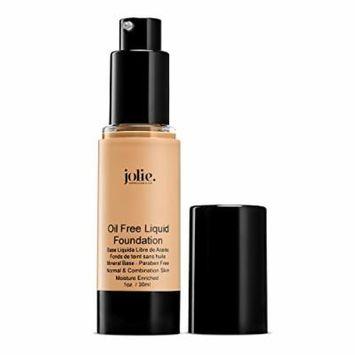 Jolie Oil Free Liquid Foundation - Matte Finish (Beige Porcelain)