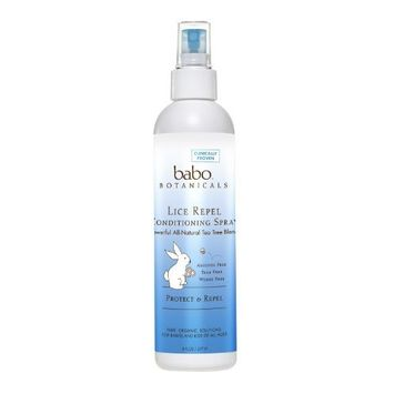Babo Botanicals Lice Repel Conditioning Spray Rosemary - 8 Fl Oz