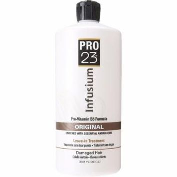 Infusium 23 Orginal Formula Pro-Vitamin Leave-In Hair Treatment 33.8 oz (Pack of 4)