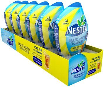 nestea® black tea with lemon liquid water enhancer