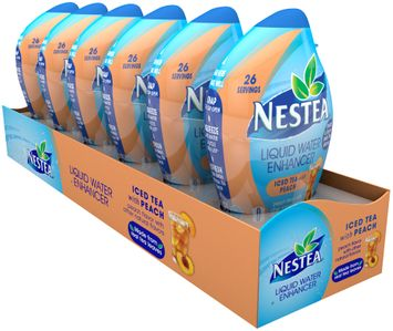 nestea® peach tea liquid water enhancer
