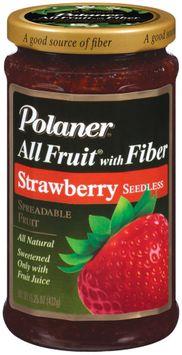 Polaner All Fruit Strawberry Seedless Fruit Spread