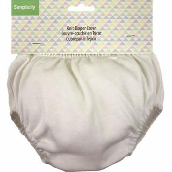 Wrights Knit Diaper Cover-White