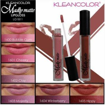 LWS LA Wholesale Store 6 PCs set Kleancolor Madly MATTE Lipgloss Bold Vivid Color Matte Lip gloss 1811