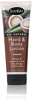 Shikai Naturally Moisturizing Hand & Body Lotion - Coconut - 8 oz