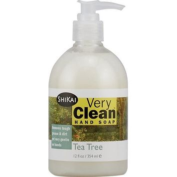 2 Packs of Shikai Products Hand Soap - Very Clean Tea Tree - 12 Oz