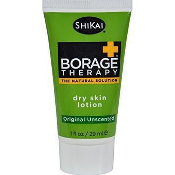 Shikai Products Dry Skin Therapy Lotion Display Case - Trial Size - Case of 18 - 1 oz