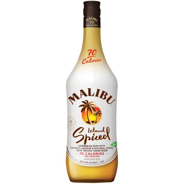 Malibu® Island Spiced Caribbean Rum 750mL Bottle