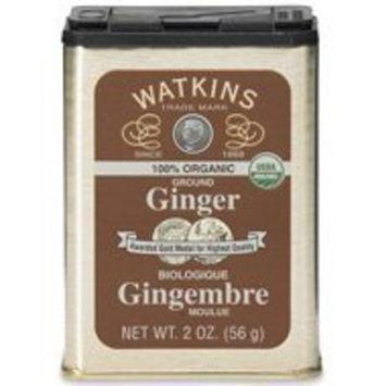 Watkins 100% Organic Ground Ginger Tin 2oz
