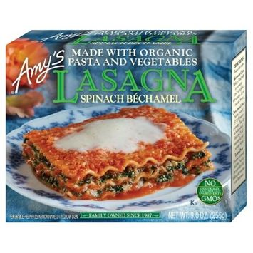 Amy's Frozen Pasta & Vegetable Lasagna Spinach Bechamel - 9oz