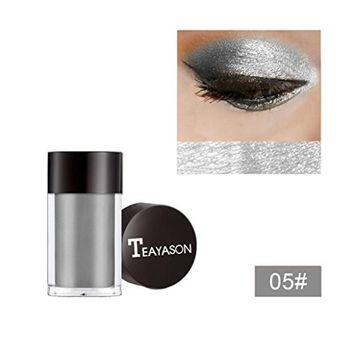Women's Shimmering Eyeshadow, Clearance! Iuhan Glitter Shimmering Colors Eyeshadow Metallic Eye Cosmetic