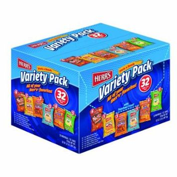 Herr's Pack a Snack, Variety Pack, 1 Oz, 32 Ct