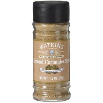 Watkins Gourmet Spice, Ground Coriander Seed, 1.3 Ounce [Ground Coriander Seed]