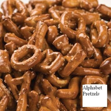 Snacks (Alphabet Pretzels, 2 LB)