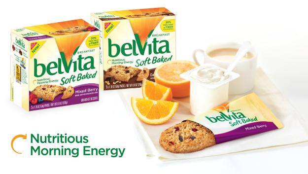 Nabisco belVita Breakfast Biscuits Soft Baked Variety Pack