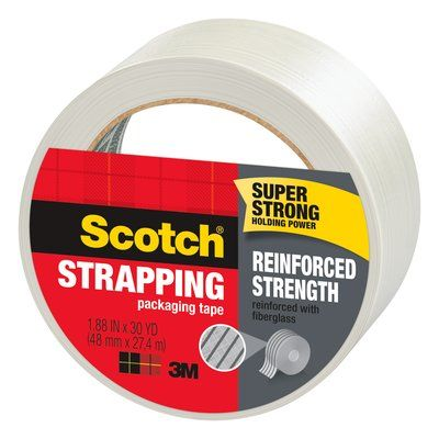 Scotch Reinforced Strength Shipping Strapping Tape
