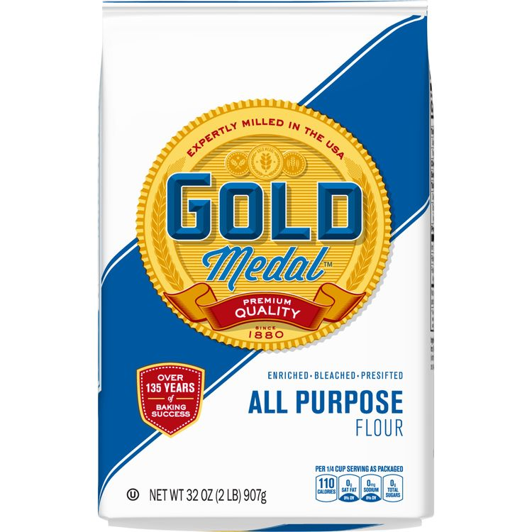 Gold Medal All-Purpose Flour, 2 lb