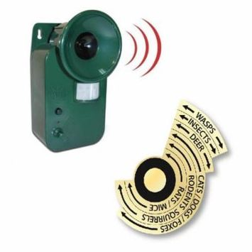 Ultrasonic Cordless Pest Repeller - Pest Control Garden Protector Repellent