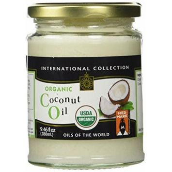 International Collection Organic Coconut Oil, 9.5 Ounce