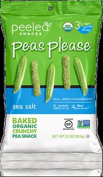 Peeled Snacks Peas Please Sea Salt