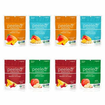 Peeled Snacks Organic Dried Fruit Variety Pack, 8 Count