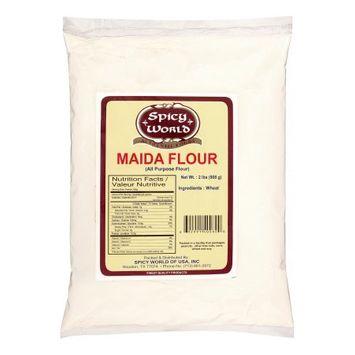 Spicy World Maida All Purpose Flour, 2 Lb