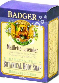 BADGER® Botanical Body Soap - Maillette Lavender