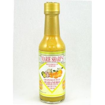 Marie Sharp's Grapefruit Pulp Habanero Hot Sauce (Pack of 3)