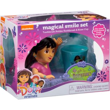 Dora the Explorer Nickelodeon Dora and Friends Magical Smile Set, 3 pc