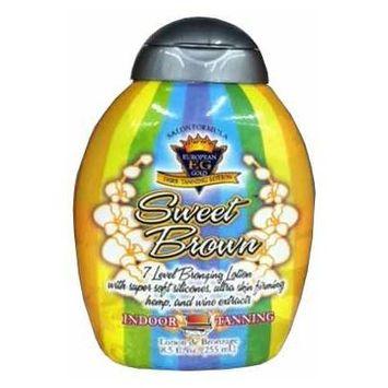 Sweet Brown 8.5 Oz Bronzer Tanning Lotion