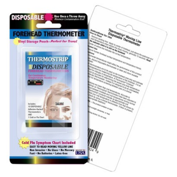 Quest Hallcrest Thermostrip Disposable Forehead Thermometers
