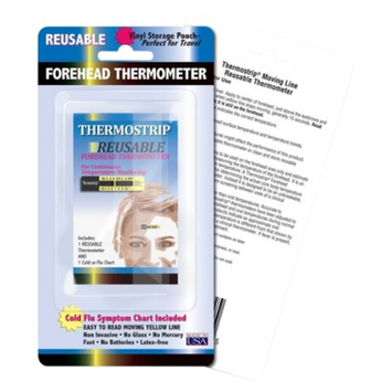 Quest Hallcrest Thermostrip Reusable Forehead Thermometer