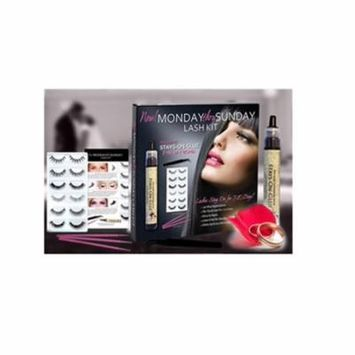Bridal False Eyelash Set | Waterproof Lash Glue | Easy to Apply Latex Free for Sensitive Eyes