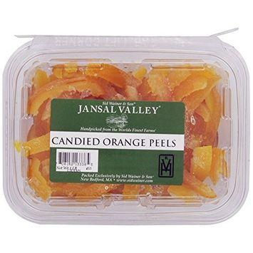 Jansal Valley Candied Orange Peel, 1 Pound