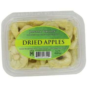 Jansal Valley Dried Apple Rings, 1 Pound