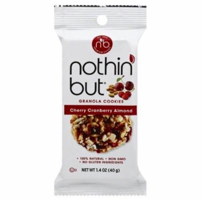 Nothin But Cherry Cranberry Almond 1.4 oz Granola Cookies - Pack of 12