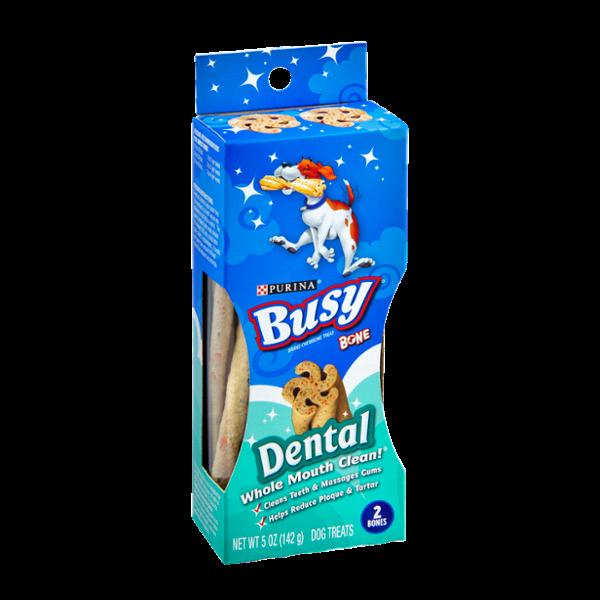 Purina Busy Dental Bone Dog Treats - 2 CT