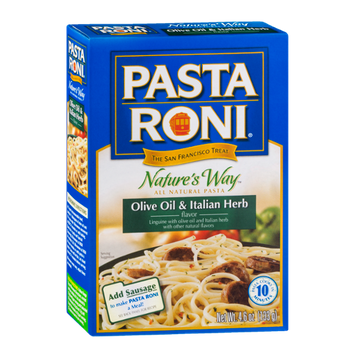 Pasta Roni Nature's Way Olive Oil & Italian Herb