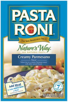 Pasta Roni Creamy Parmesano Flavor Natures Way