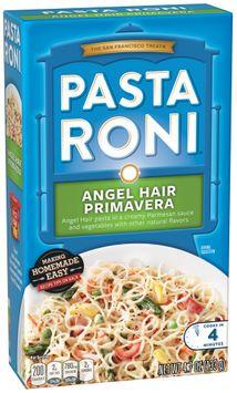 Pasta Roni® Angel Hair Primavera Pasta