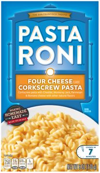 Pasta Roni® Four Cheese Corkscrew Pasta