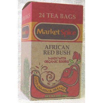 Cinnamon-Orange African Red Bush Teabags (Rooibos)