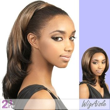 Motown Tress (LG-62) - Synthetic Half Wig in 2F350