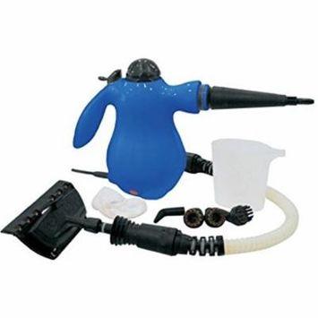 Handheld Compact Steam Cleaner For Carpet, Floor, Vehicle, Door & Window Cleaning -Blue