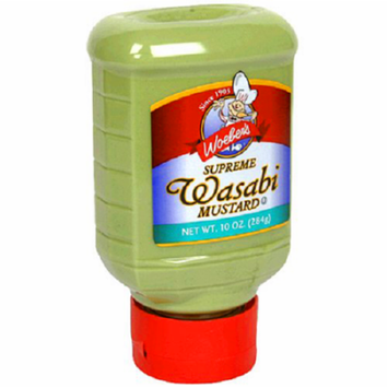 Woebers Supreme Wasabi Mustard Case of 6 10 oz.