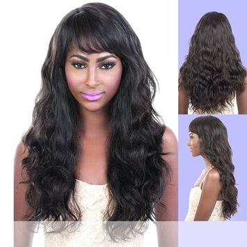 Motown Tress (HBR-Anna) - Virgin Brazilian Human Hair Full Wig in Natural