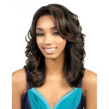 Motown Tress Simple Cap Synthetic Full Wig - SK-DEMI (R27/24/4)