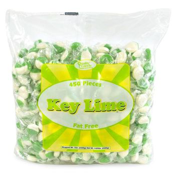 Quality Candy Key Lime Hard Candy Disks, 5-Lb Bag