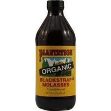 Plantation Organic Blackstrap Molasses, 15 oz.