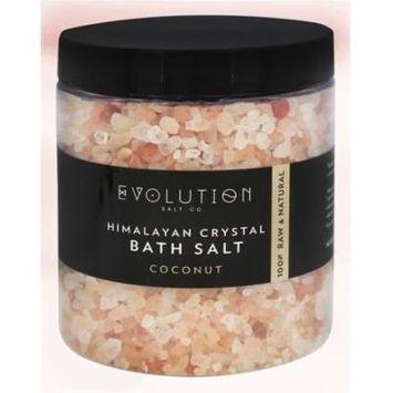 Evolution Salt Company - Himalayan Crystal Bath Salt Coconut - 26 oz.(pack of 1)